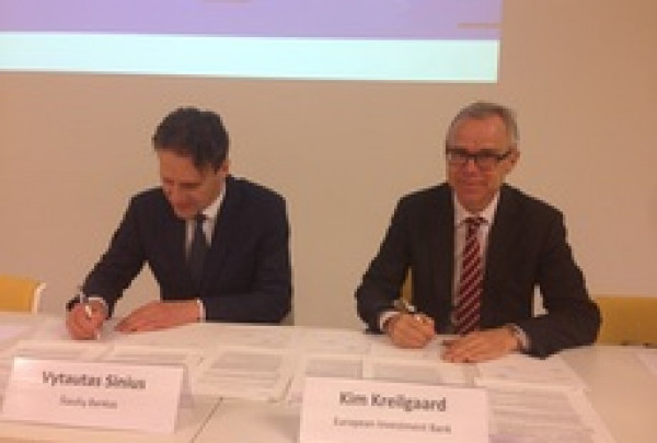 EIB and Šiaulių bankas renew support for urban renewal in Lithuania